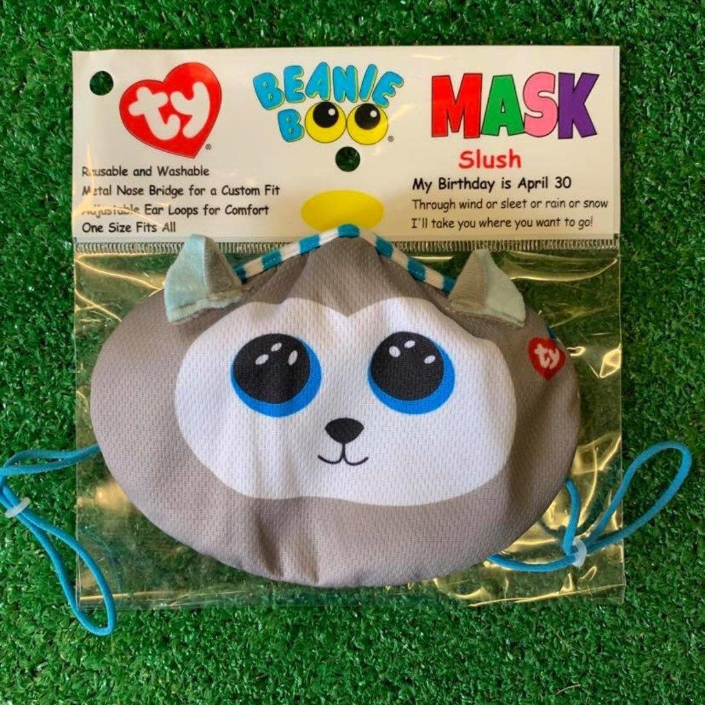 Ty Beanie Boo - Face Mask - Slush Husky
