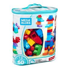 Mega Bloks Mega Bloks Building Bag Assortment  - 60pcs - Blue