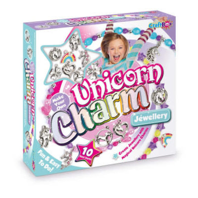 Craft Box Make Your Own Unicorn Charm Jewellery