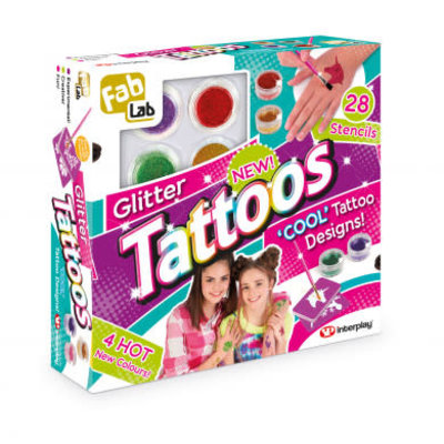 Fab Lab Fab Lab Glitter Tattoos kit