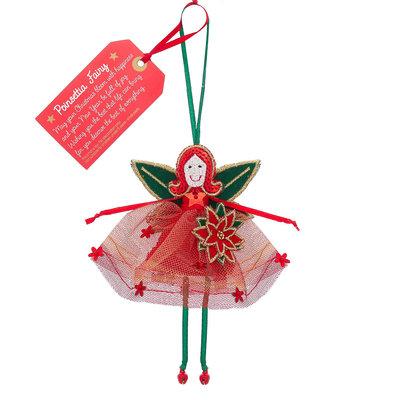 Believe You Can Poinsettia Fairy - Christmas