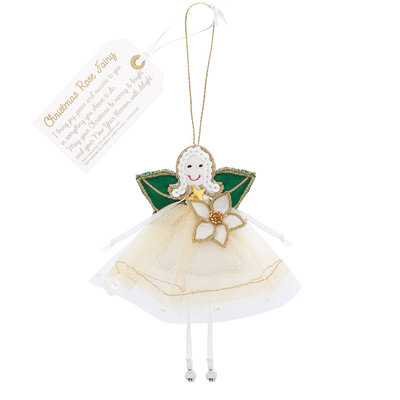 Believe You Can Christmas Rose Fairy - Christmas