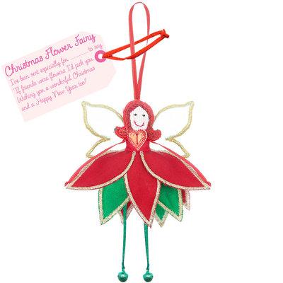 Believe You Can Christmas Flower Fairy - Christmas