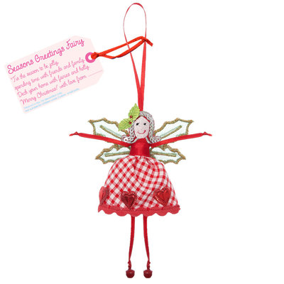 Believe You Can Seasons Greetings Fairy - Christmas