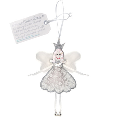 Believe You Can Snow Queen Fairy - Christmas Fairy