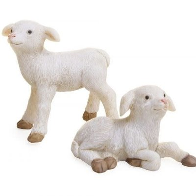 Woodland Knoll Woodland Knoll - Resin Sheep Set (2pcs)