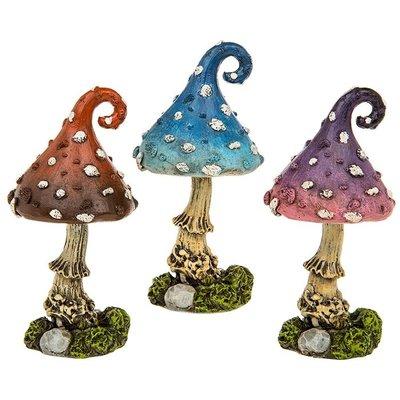 Shudehill Giftware Small Fairy Glade Mushroom  - Red