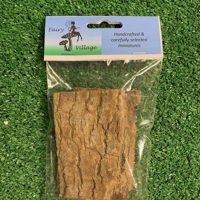 Fairy Village Wooden Bark Panels