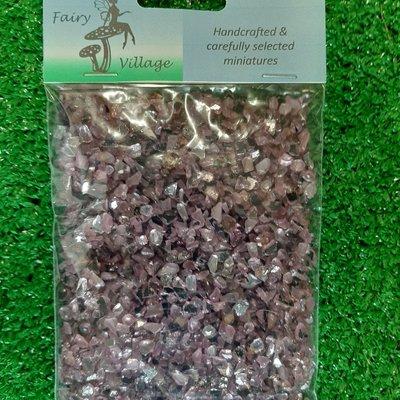 Fairy Village Large Gravel - Pink