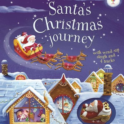 Usborne Santa's Christmas Journey Book