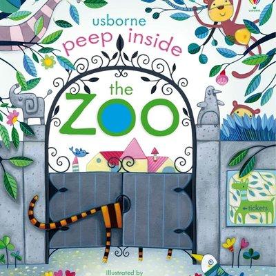 Usborne Peep Inside ... The Zoo Book