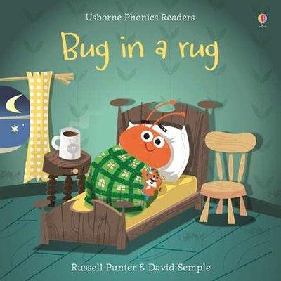 Usborne Phonics Bug in a Rug - Phonics Book