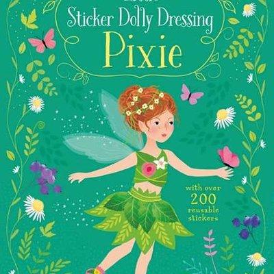 Usborne Activities Little Sticker Dolly Dressing Pixie Book