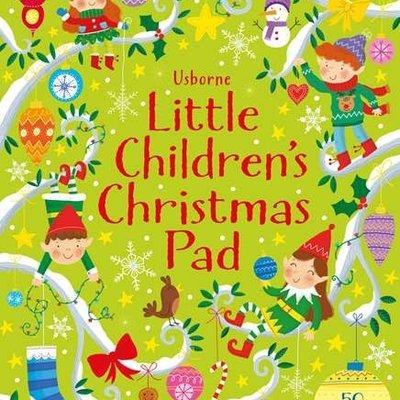 Usborne Activities Little Children's Christmas Pad