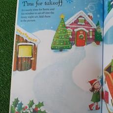 Usborne Activities Santa Sticker & Colouring Book