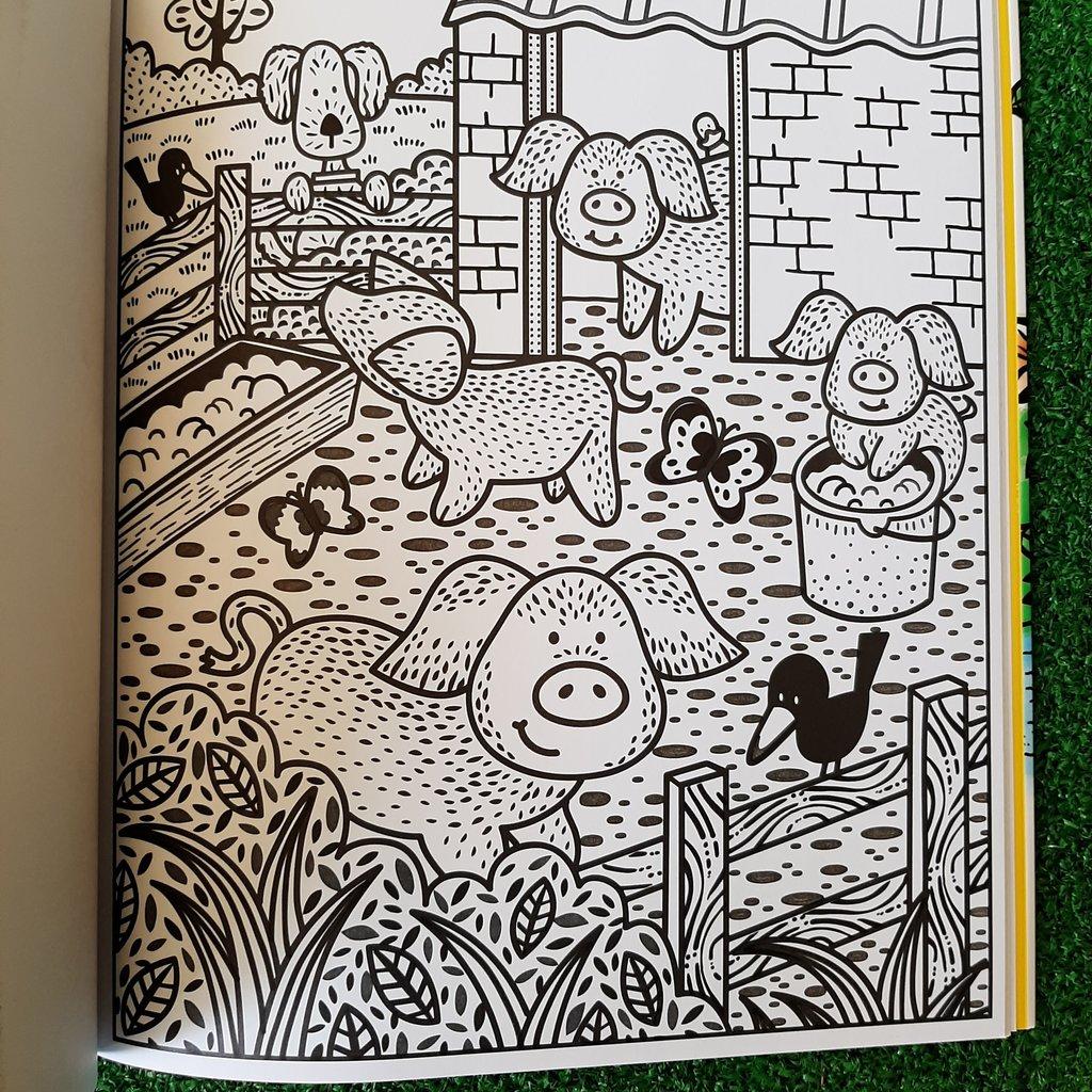Poppy and Sam Poppy and Sam's Farm Animals Magic Painting Book