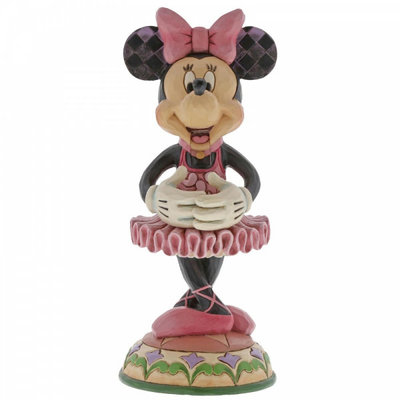 Disney Traditions Disney - Beautiful Ballerina Minnie Figurine