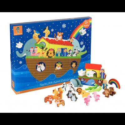 Orange Tree Toys Noah's Ark Wooden Advent Calendar