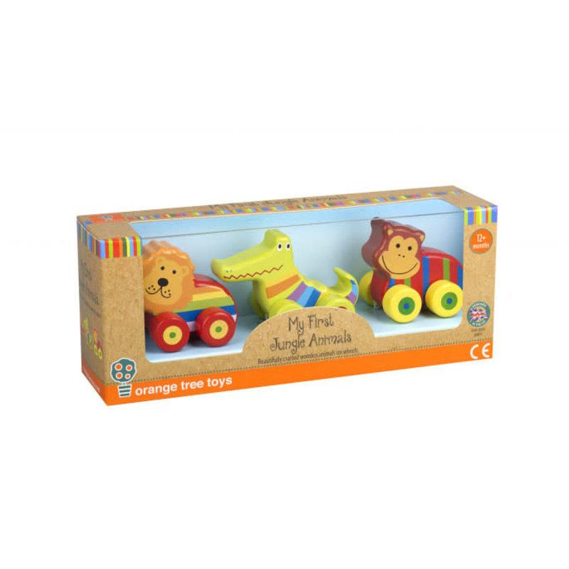 Orange Tree Toys My First Jungle Animal Vehicles - Boxed
