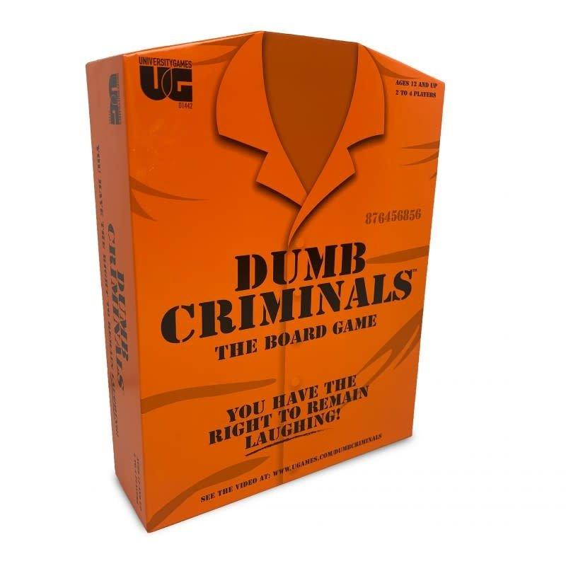 University Games Dumb Criminals - The Board Game