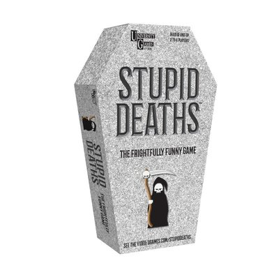 University Games Stupid Deaths Coffin Tin Game
