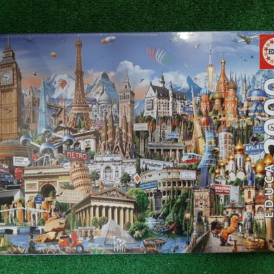 Educa 2000pcs - Europe Landmarks Puzzle