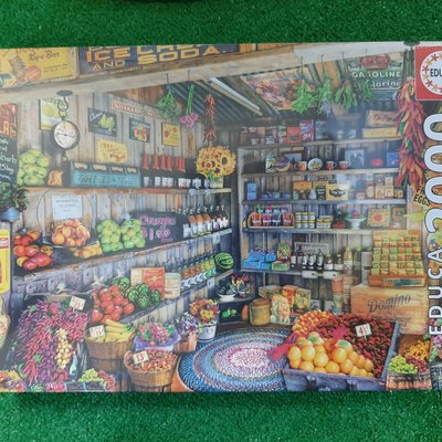 Educa 2000pcs - The Farmers Market Puzzle