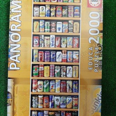 Educa 2000pcs - Soft Cans Panorama Puzzle