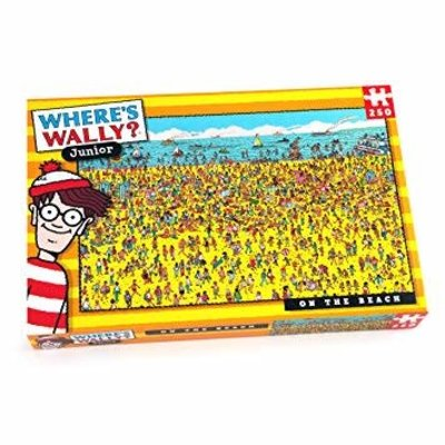 Where's Wally 250pcs - Where's Wally? - On the Beach Puzzle
