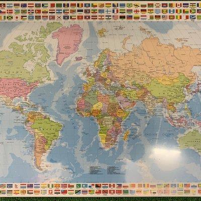 Educa 1500pcs - The World Map Puzzle