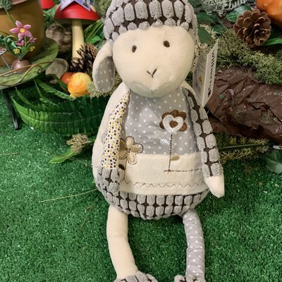 Wilberry Friends Wilberry Friends - Lamb (Grey)