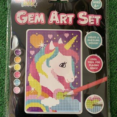 Kreative Kids Gem Art Set - Unicorn