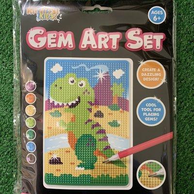 Kreative Kids Gem Art Set - Dinosaur