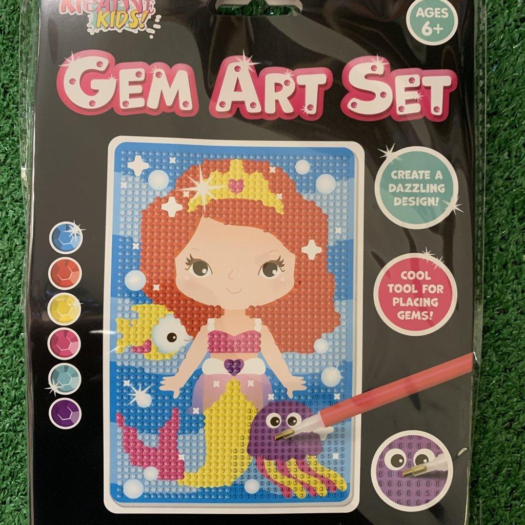 Kreative Kids Gem Art Set - Mermaid