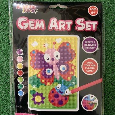Kreative Kids Gem Art Set - Butterfly
