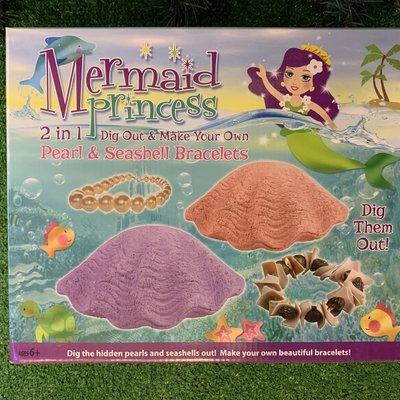 Mermaid Princess 2 in 1 Dig Out & Make Bracelet Kit