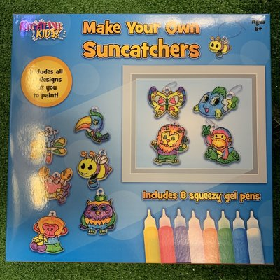 Kreative Kids Make Your Own Suncatchers ( 10 in 1 )