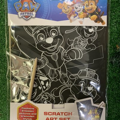 Paw Patrol Paw Patrol - Scratch Art Set