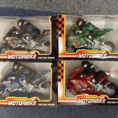 Motorbike Friction Power