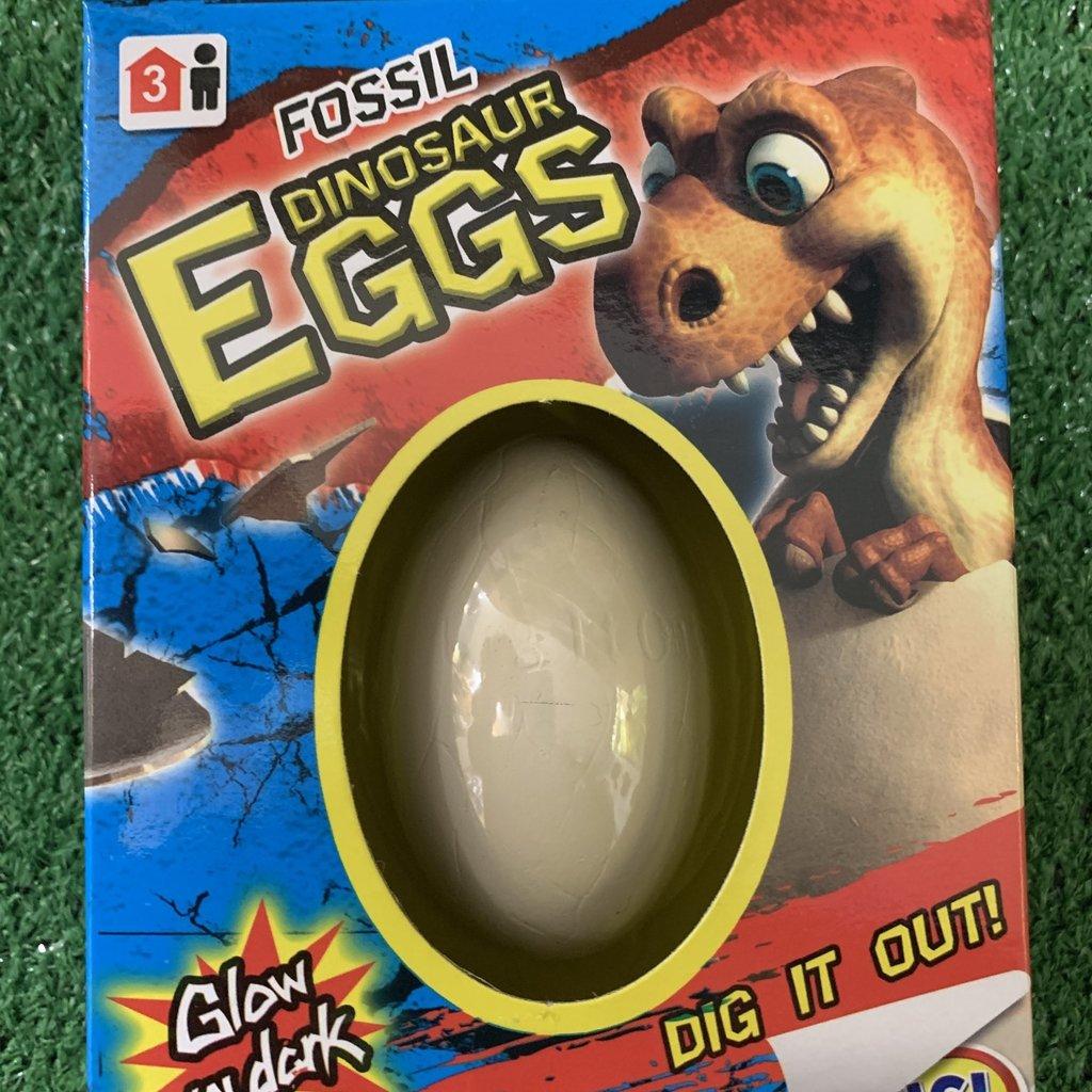 Glow in the Dark Fossil Dinosaur Egg Series