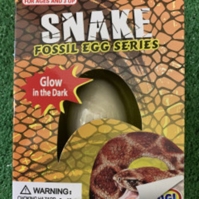 Glow in the Dark Fossil Snake Egg Series