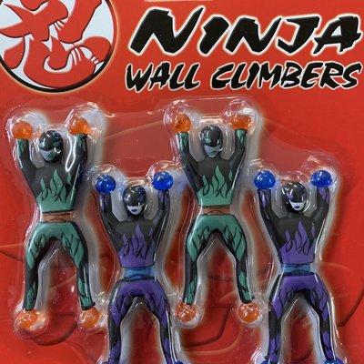 Ninja Wall Climbers Pack