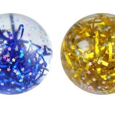 Henbrandt Ltd Splat Ball - Stars with Glitter