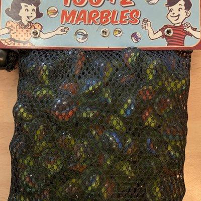 Retro Games Retro 100+2 Marbles in a Net Bag
