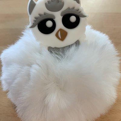 Cutiekins Cutiekins Pom Pom Keychain - Owl