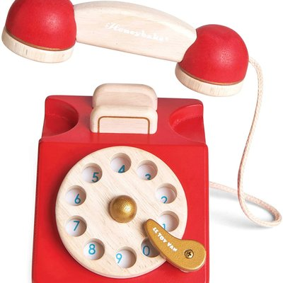 Honeybake Wooden Vintage Phone