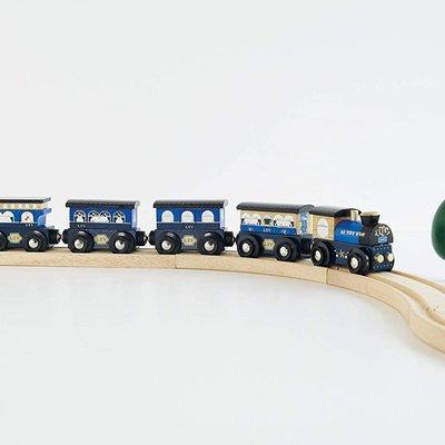 Le Toy Van Wooden Twilight Train (Blue)
