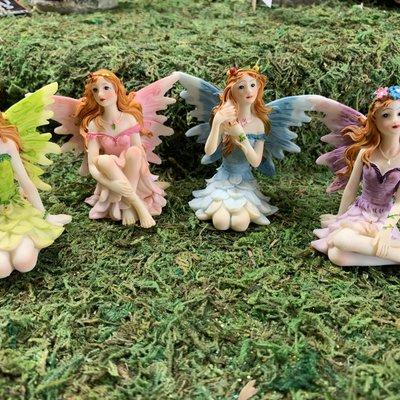 Fairy Glen Fairies Set of 4