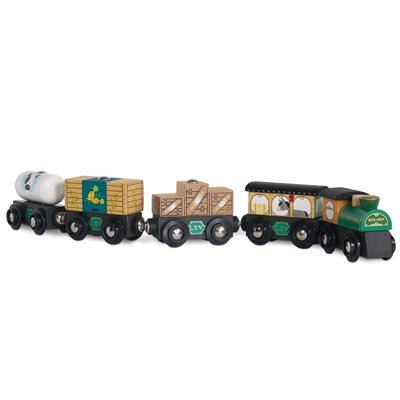 Le Toy Van Wooden Great Green Train