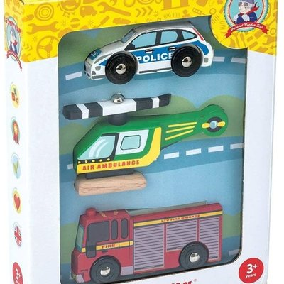 Le Toy Van Emergency Vehicle Set of 3